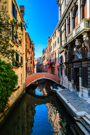 A beautiful summer day in idyllic Venice