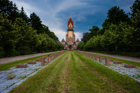 Südfriedhof is, with an area of 82 hectares, the largest cemetery in Leipzig.
