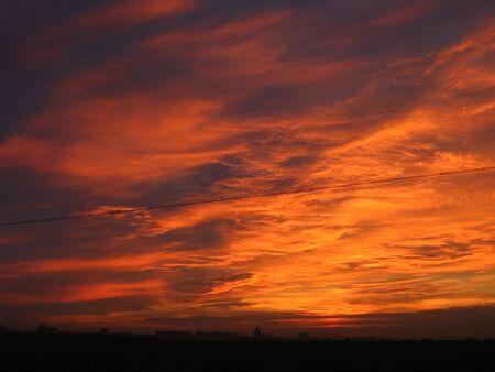 a landscape of daybreak Stock Photo - 3919377