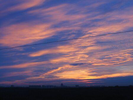a landscape of daybreak Stock Photo - 3919376
