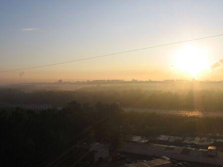city in the daybreak Stock Photo - 3919374