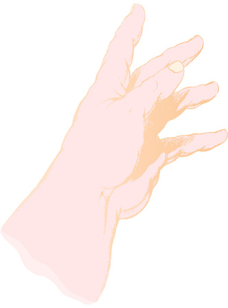 truncated: the truncated hand of four years old child