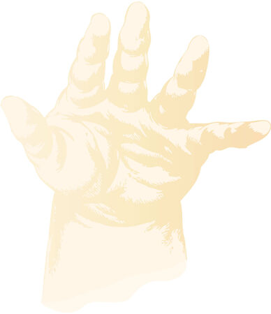 truncated: the truncated hand of a suckling baby