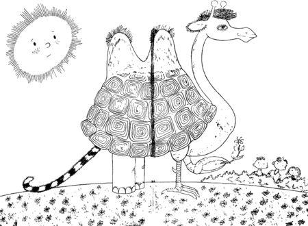 mystic: mystic animal Illustration