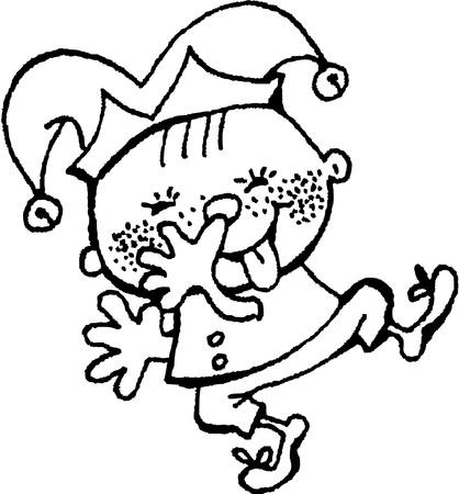 wag: joker Illustration