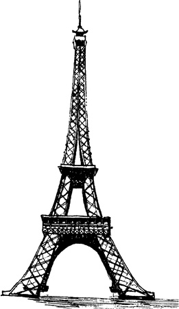 Eiffel Tower Stock Vector - 14457933