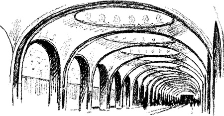 art sketch Illustration