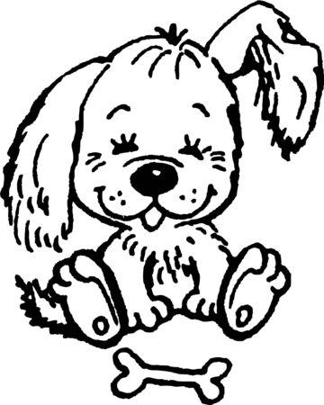 puppy Stock Vector - 14548894