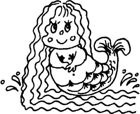 mermaid Stock Vector - 14549577