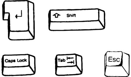 keyboard Stock Vector - 19704259