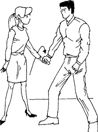 self-defense Vector