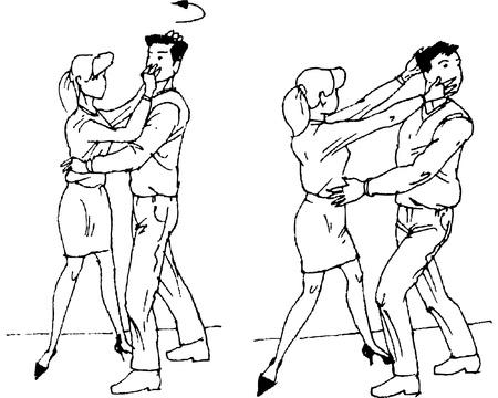 self defence: self-defense