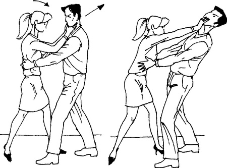 self-defense Vector