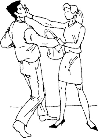self-defense Stock Vector - 19564874