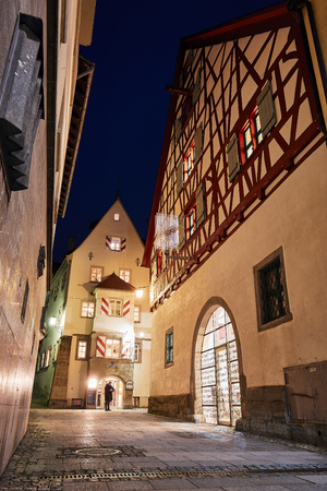 ?berlingen Old Town at the Blue Hour