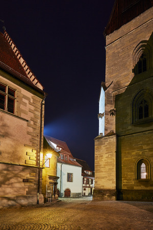 Überlingen Old Town at the Blue Hour