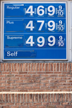 Gasoline prices reaching record levels