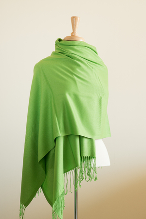 male mannequin: Mannequin Torso displayed with Wrap Scarf Shawl