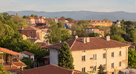 The architectural samples of the old town. Plovdiv.