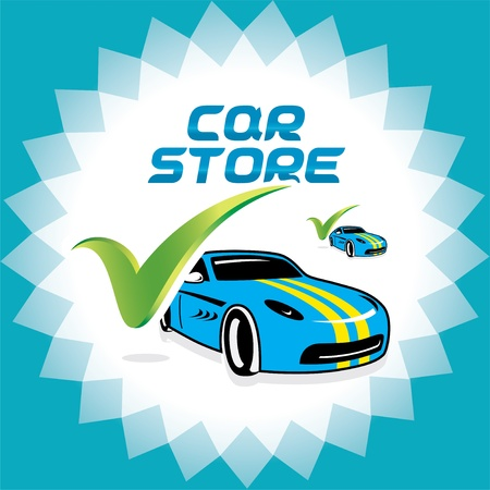 New Car Accept Icons, Logo Illustration for Web and Print Design Stock Vector - 15743143