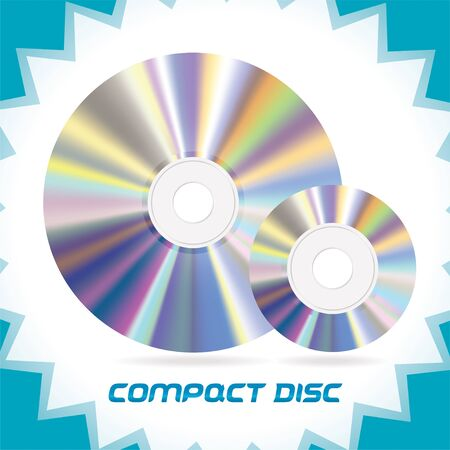 bytes: Two Vector Isolated Compact Discs , DVD, CD, CD-RW, DVD-RW