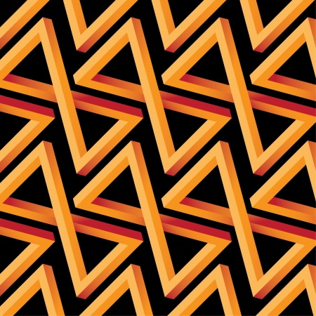 triangle objects: Abstract Optical Illusion Seamless Pattern for Hotel, Home and Villa Design
