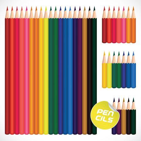 colour pencils: Color Pencils Collection, Illustration