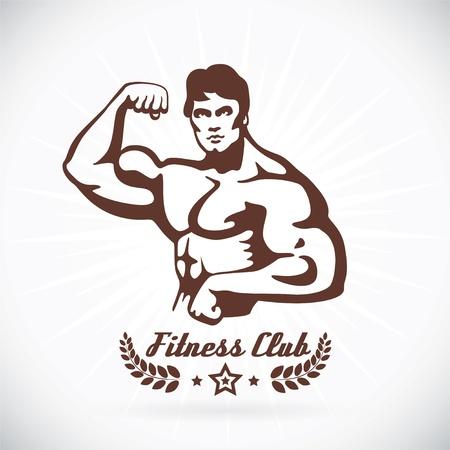 �lite: Bodybuilder Modello Fitness