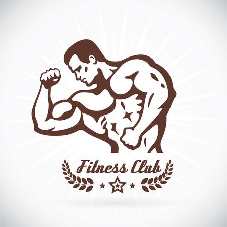 bicep: Bodybuilder Modelo Fitness