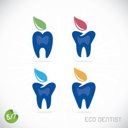 dental implants: Dentist Symbols, Sign, Illustration, Button, Badge