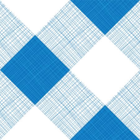 checks: Vector Seamless Picnic Tablecloth Pattern Illustration