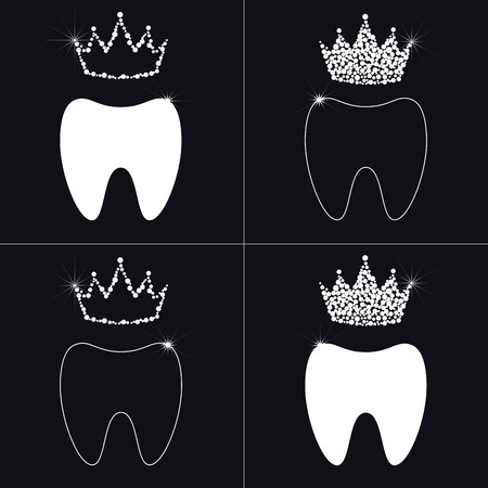 dent: dent and diamond crown.
