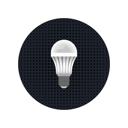 light emission: white LED energy-saving light lamps