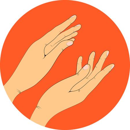 bravo: hands, vector illustration. Applause