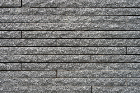 Gray stone wall, background, texture. Old gray brick wall texture background Stock Photo
