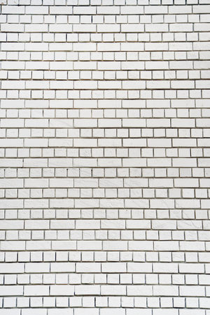 White Wall Texture Color of Old Brick Wall Surface as Background