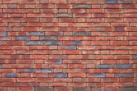 Red Brick wall for background or texture. Old red brick wall texture background Stock Photo