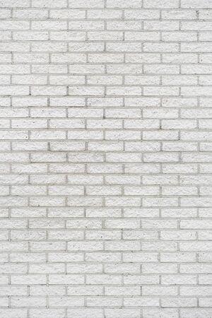 White brick wall texture background. white brick wall background texture close-up.