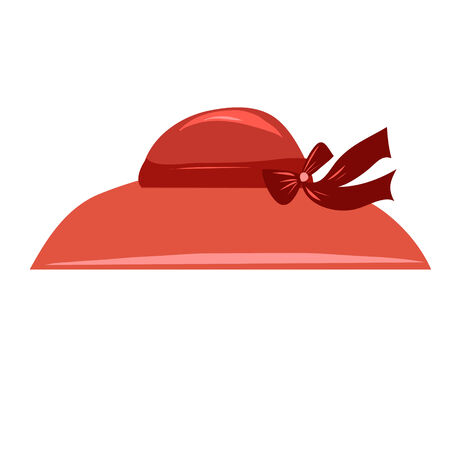 stylized image of a hat isolated