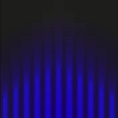 arts backgrounds: Dark blue background with luminous stripes of different sizes