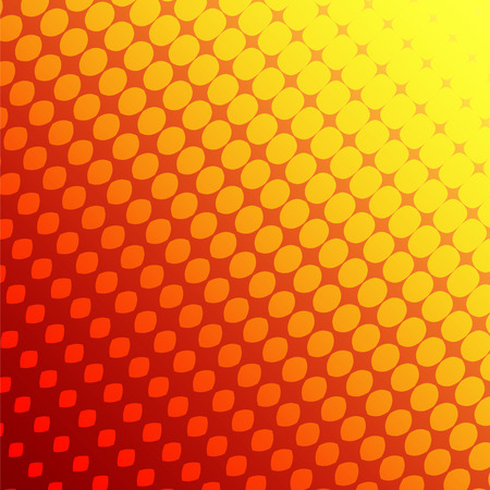 polychromatic: Abstract background the red and yellow of the diamonds . Illustration