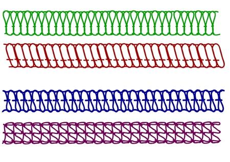 Nähstich wird Naht im Vektor übersetzt. Standard-Bild - 39521747