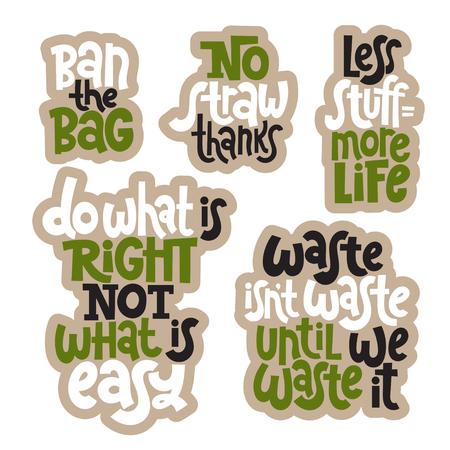 Grüne Sätze über Ökologie