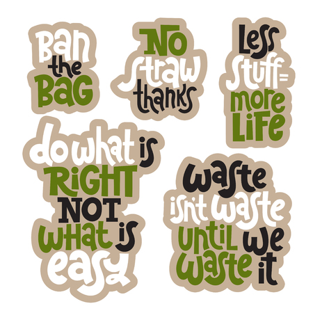 Green phrases about ecology