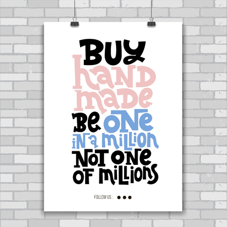 Hand made quotes