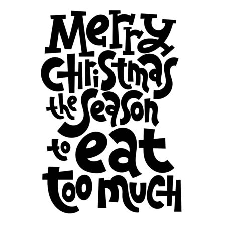 AntiChristmas lettering quotes