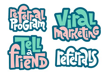 Referral lettering quote