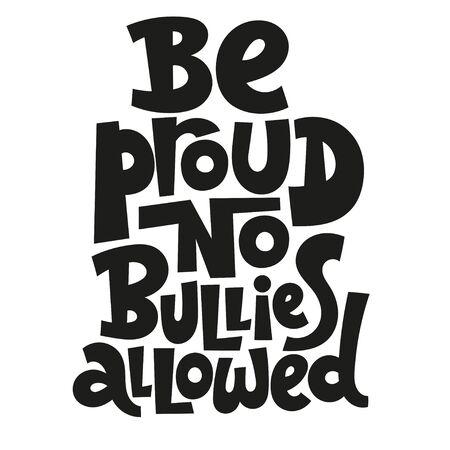 Anti Bullying Lettering