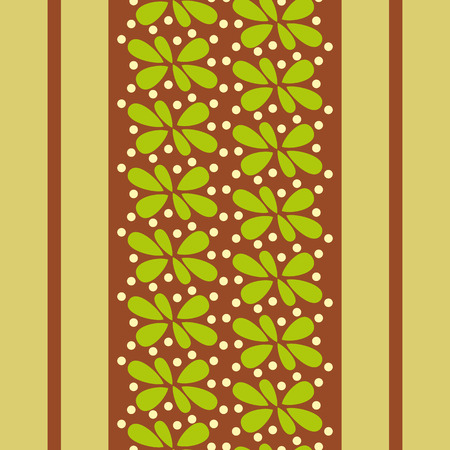 abstract wallpaper: abstract wallpaper with bright green leaves and brown stripes