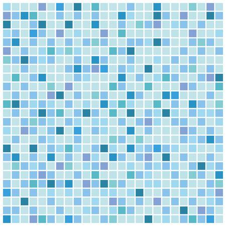 Blue mosaic Hintergrund
